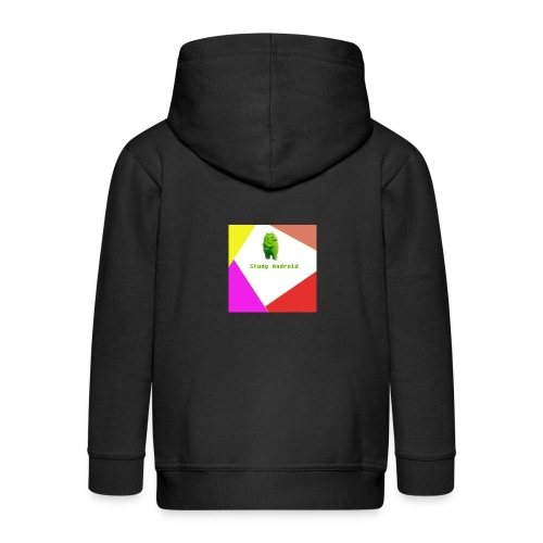 Study Android - Chaqueta con capucha premium niño