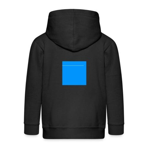 sklyline blue version - Veste à capuche Premium Enfant