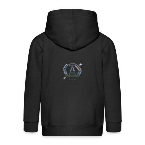 AlphaOfficial Logo T-Shirt - Kids' Premium Zip Hoodie