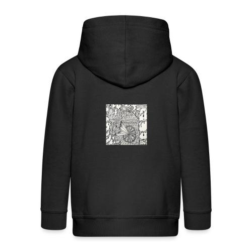 Brain Ache - Kids' Premium Zip Hoodie
