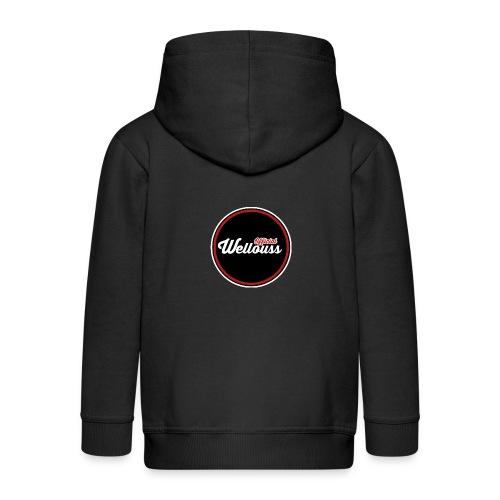 Wellouss Fan T-shirt | Rood - Kinderen Premium jas met capuchon