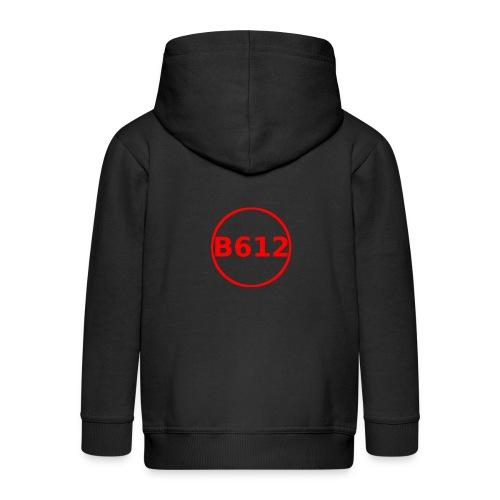 b612 png - Felpa con zip Premium per bambini