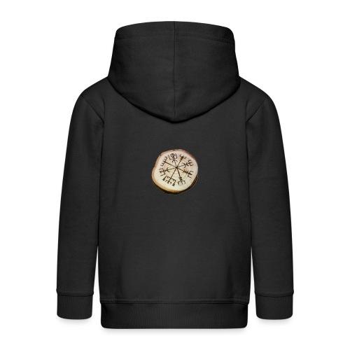 VHEH - Vegvísir - Kids' Premium Zip Hoodie