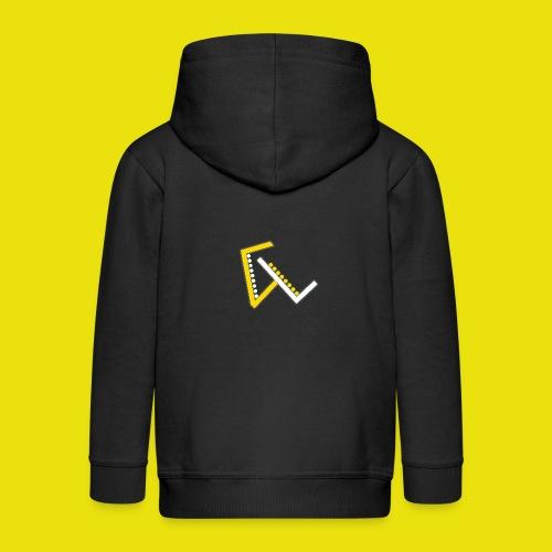 Giulio Laura FX T-Shirt - Felpa con zip Premium per bambini