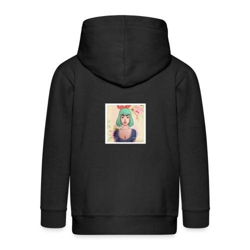 elena of spain - Kids' Premium Zip Hoodie