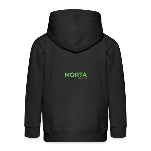 MORTA - Felpa con zip Premium per bambini