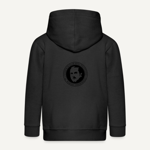 skmp - Rozpinana bluza dziecięca z kapturem Premium