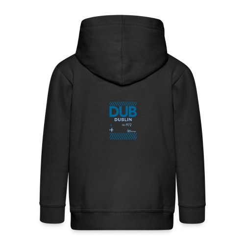 Dublin Ireland Travel - Kids' Premium Zip Hoodie