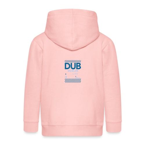 Dublin Ireland Travel - Kids' Premium Zip Hoodie
