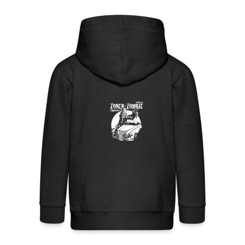 Zonen Zombie Supporter Shirt - Kinder Premium Kapuzenjacke