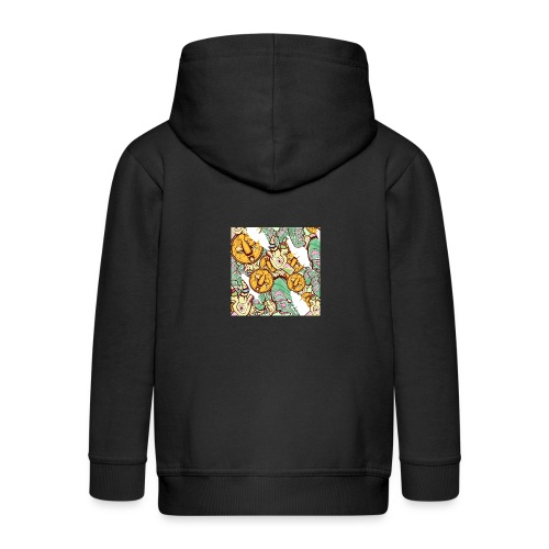 Mask Factory - Day Edition - Kids' Premium Zip Hoodie