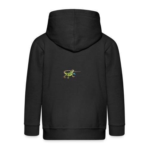 Lizard T-shirt - Kids' Premium Zip Hoodie