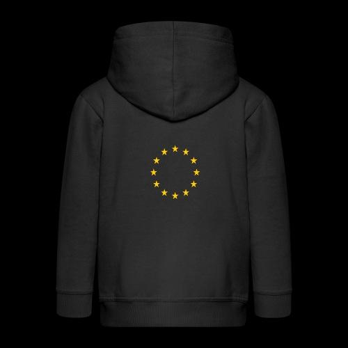 EU Sterne - Kinder Premium Kapuzenjacke