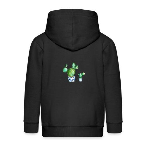 Kaktus - Kids' Premium Zip Hoodie