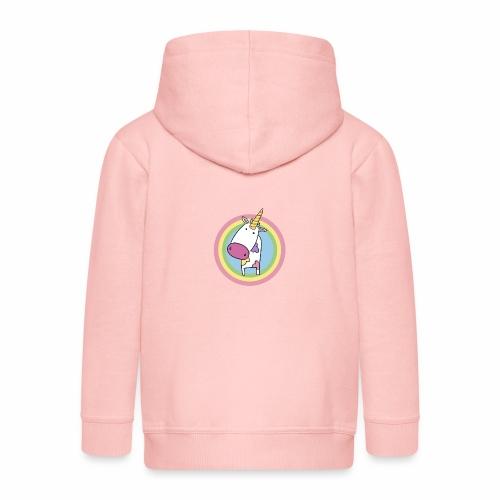 MilkCorn - Veste à capuche Premium Enfant