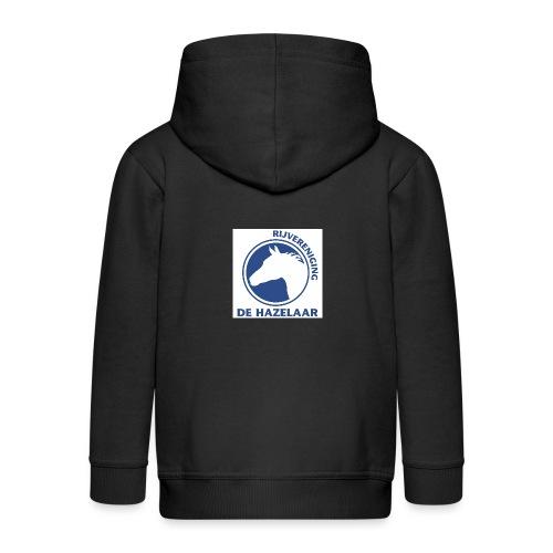 LgHazelaarPantoneReflexBl - Kinderen Premium jas met capuchon