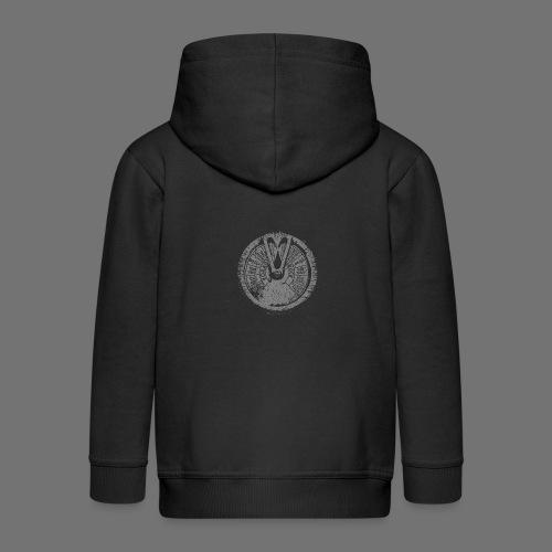 Maschinentelegraph (gray oldstyle) - Kids' Premium Hooded Jacket