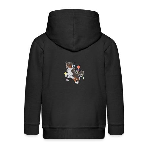 Australian Shepherd - Kinder Premium Kapuzenjacke