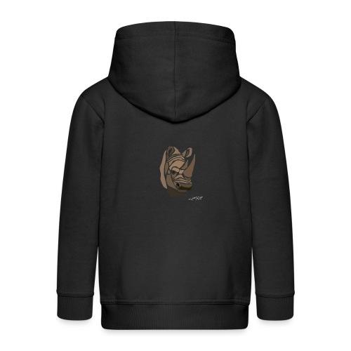 rhinoceros-spread - Veste à capuche Premium Enfant