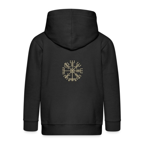 Vegvisir-The-Runic-Viking or - Veste à capuche Premium Enfant