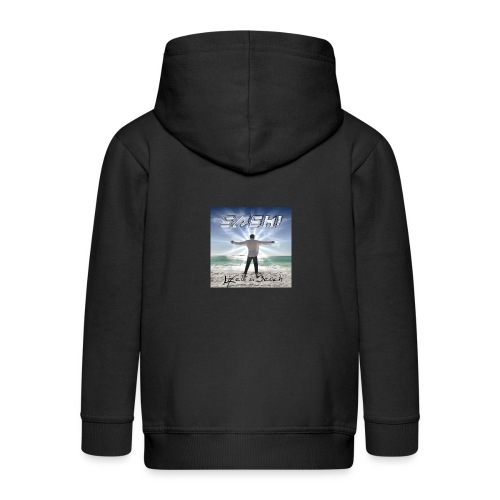 Life Is A Beach Cover - Kids' Premium Hooded Jacket