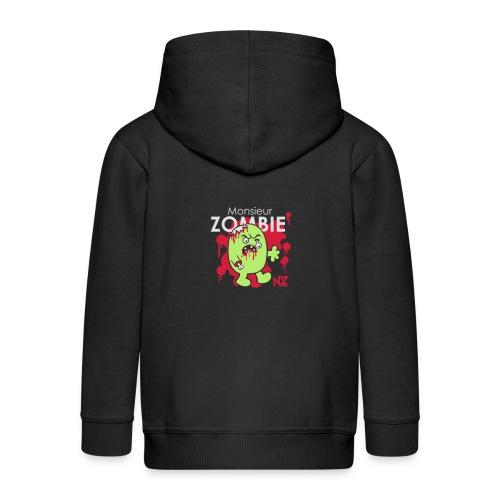mr zombie - Veste à capuche Premium Enfant