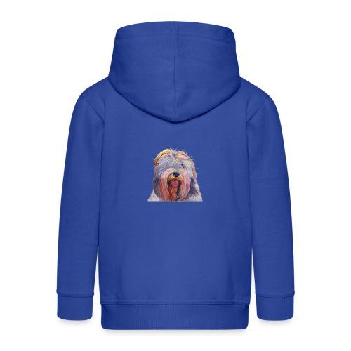 schapendoes - Premium hættejakke til børn