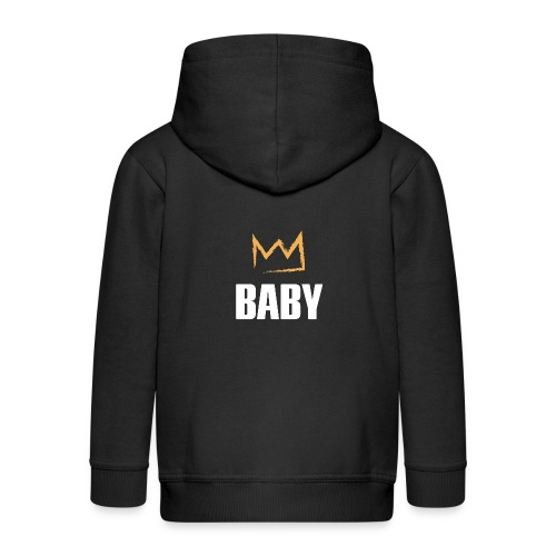 Baby mit Krone - Kinder Premium Kapuzenjacke