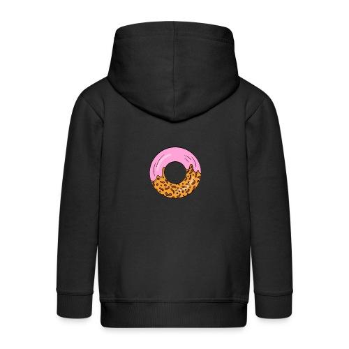strawberry doughnut cartoon - Kinder Premium Kapuzenjacke