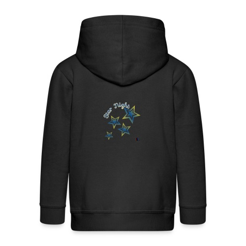 Star - Chaqueta con capucha premium niño