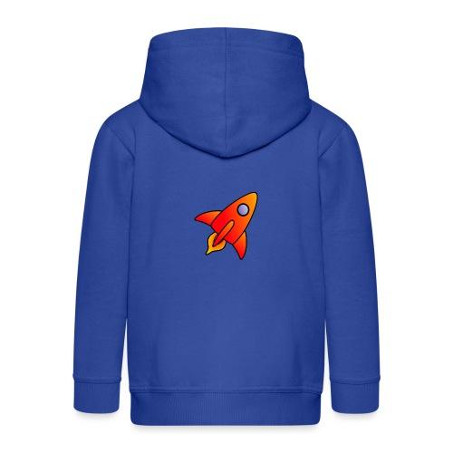 Red Rocket - Kids' Premium Zip Hoodie