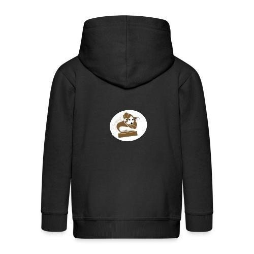 Droove logo - Kinderen Premium jas met capuchon
