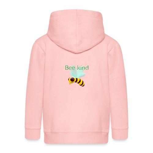 Bee kind - Chaqueta con capucha premium niño