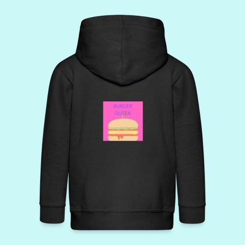 Burger Queen - Kids' Premium Hooded Jacket
