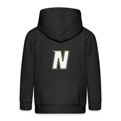 Nordic Steel WHITE N - Kids' Premium Zip Hoodie