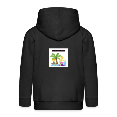 beach - Premium-Luvjacka barn
