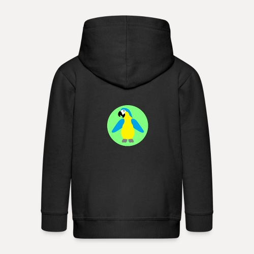 Yellow-breasted Macaw - Kids' Premium Hooded Jacket