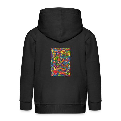 Color_Style - Chaqueta con capucha premium niño