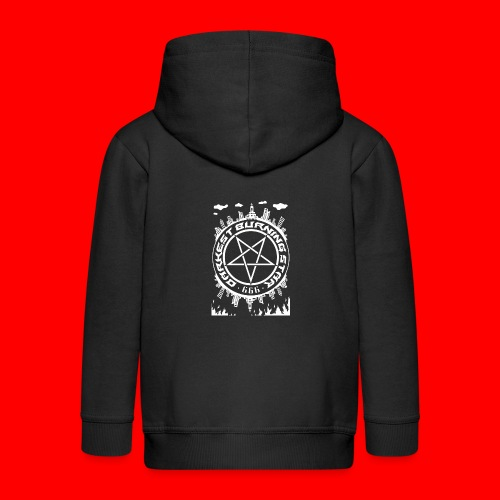 Darkest Burning Star - Kids' Premium Zip Hoodie
