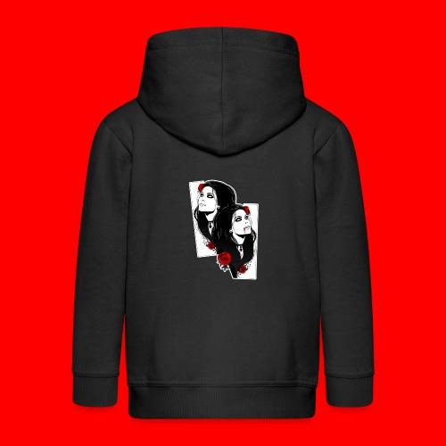 vampires - Kids' Premium Zip Hoodie