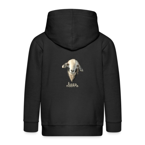 Koza Nostra - Rozpinana bluza dziecięca z kapturem Premium
