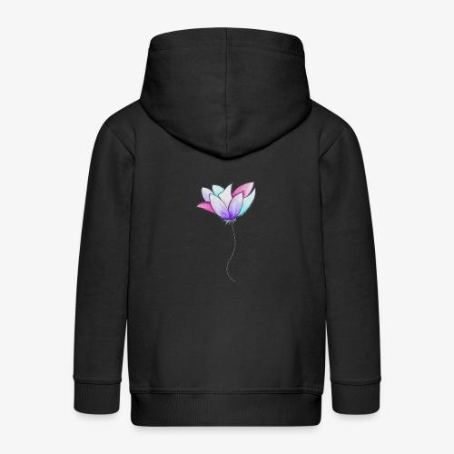Fleur - Veste à capuche Premium Enfant