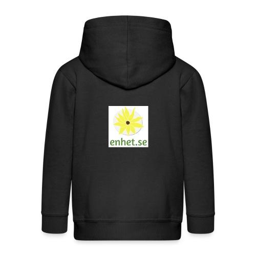 Enhet_logotyp_hq_text_und - Premium-Luvjacka barn