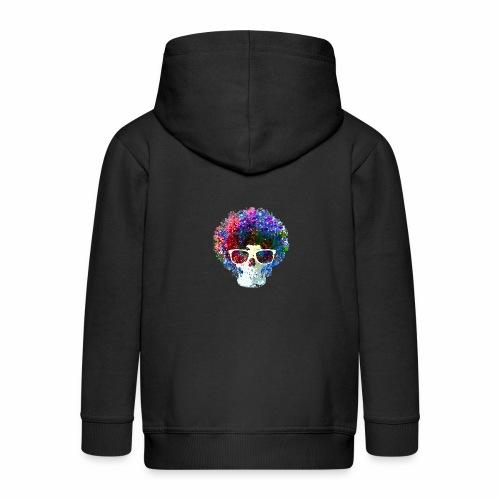 Freaky Skull Color - Kinderen Premium jas met capuchon