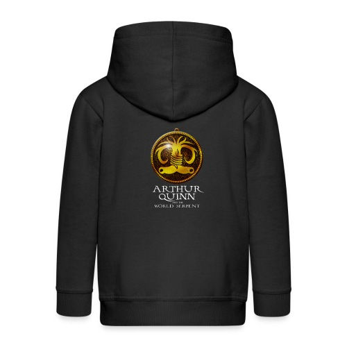 Arthur Quinn T shirt - Kids' Premium Zip Hoodie