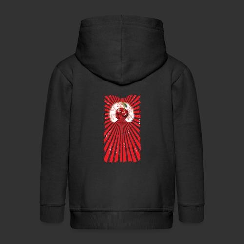 frkn cherry - Kinderen Premium jas met capuchon
