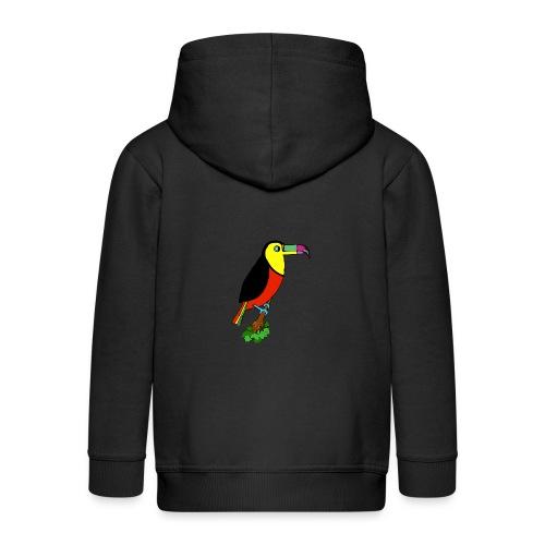 Le toucan - Veste à capuche Premium Enfant