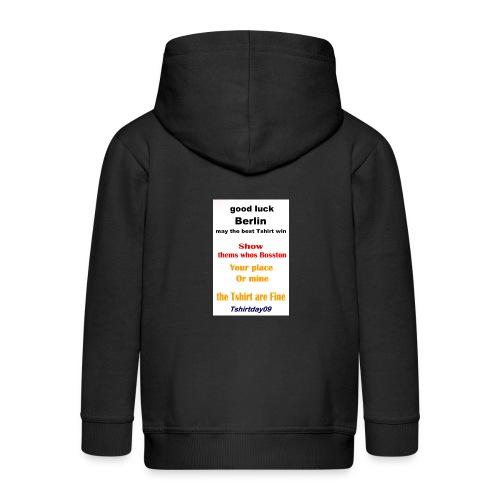 INTERNATIONAL09 - Kids' Premium Zip Hoodie
