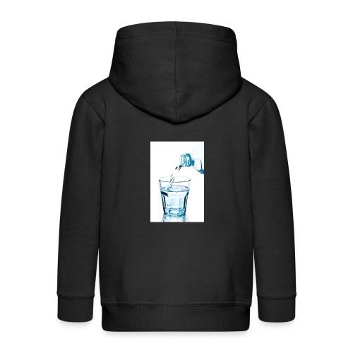 Glas-water-jpg - Kinderen Premium jas met capuchon