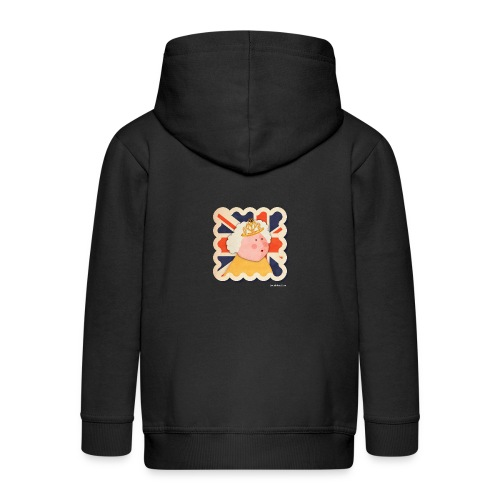 The Queen - Kids' Premium Zip Hoodie